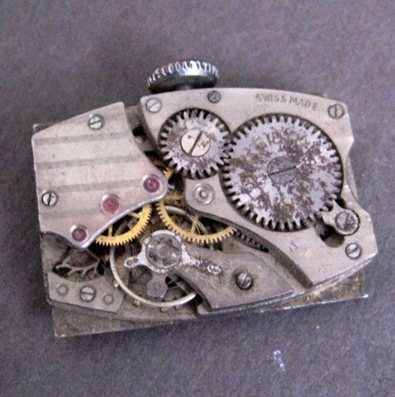 Lanco 15 Rubis Watch Movement - Vintage 1920s or 1930s