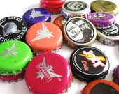 25 Rescued Bottle Caps - hand selected