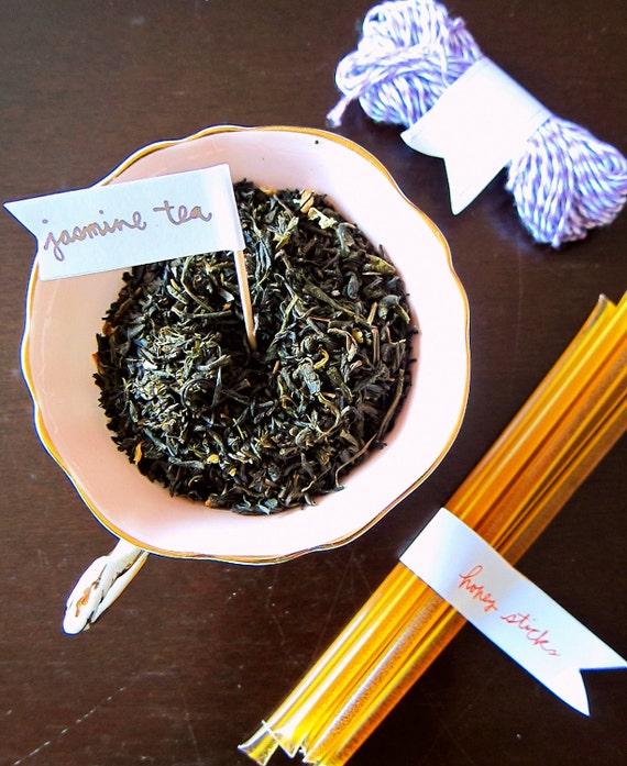 DIY Tea Bags (Complete Kit) - Makes 12 Jasmine tea
