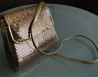 Vintage Purses, Chain Mail Purse, Whiting and Davis, Whiting and Davis Purse
