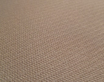 Dark Taupe - Vintage Fabric - Polyester - Solid