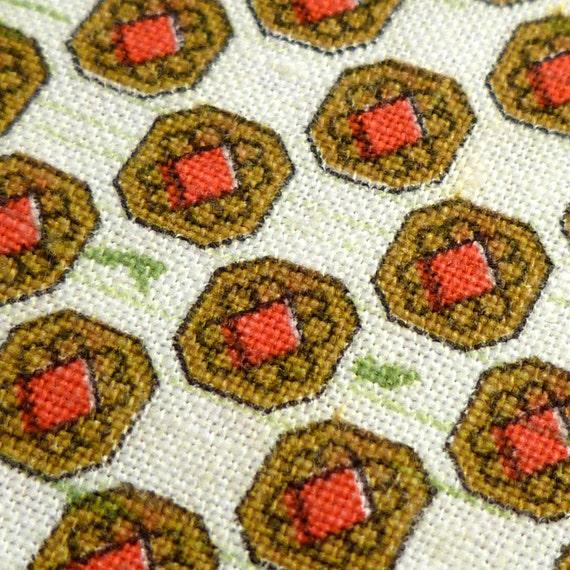 Simple Motif - Vintage Fabric - Cotton