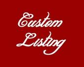 Custom Listing for Anutakarenina- You Are Loved Heart Clutch