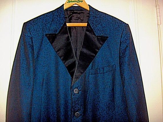 1950's Brocade Dinner Tuxedo Jacket