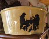 Crooksville Silhouette Bowl