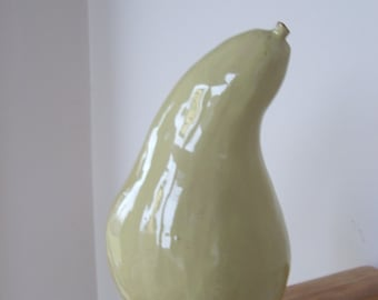 Vintage Pottery Gourd