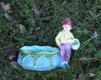 Vintage French Farmer Planter