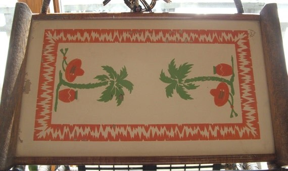 Awesome Vintage Mexican Tray