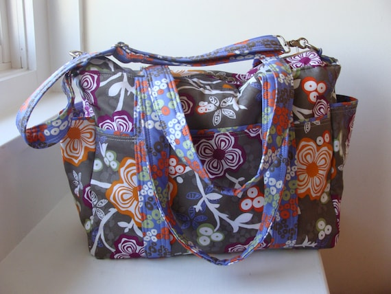triplets or twins diaper bag custom made by watermelonwishes. Black Bedroom Furniture Sets. Home Design Ideas
