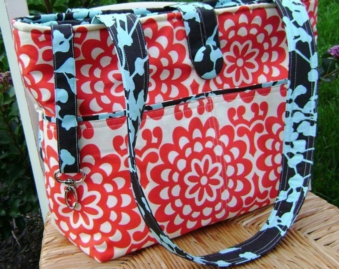Design Your Own Market Tote Bag --- Custom made to order from your favorite fabrics