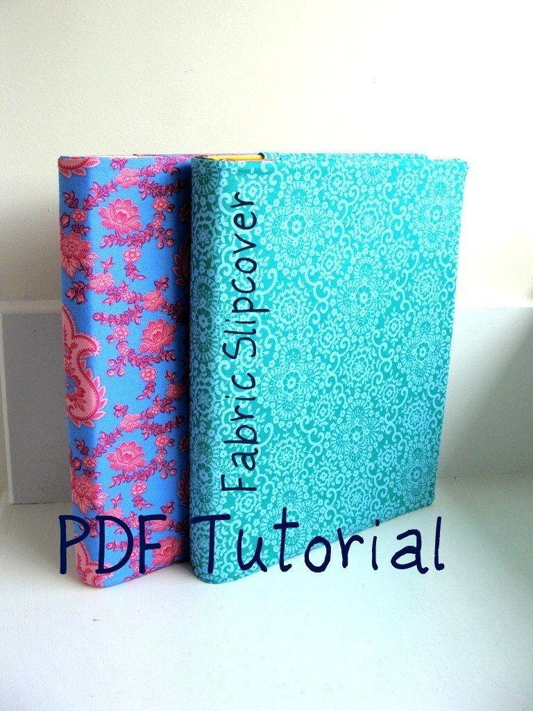 fabric text book and 3 ring binder cover tutorial pdf easy