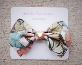 Hello Beauty butterfly print brooch
