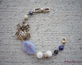 Purple aventurine owl bracelet