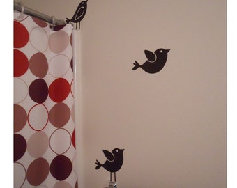 3 Birds - Vinyl Wall Decals