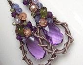 SALE      Napa Vineyards Gemstone Earrings