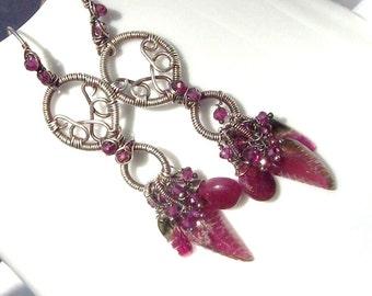 Beauty of Pala Earrings