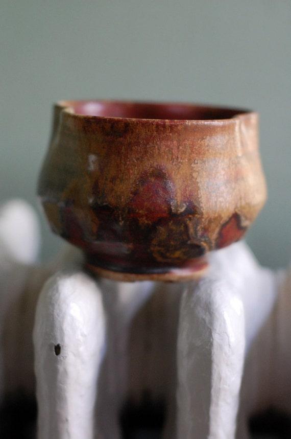 small stoneware chawan