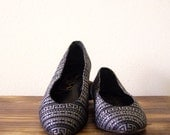 SALE Vintage Tribal Print Flat