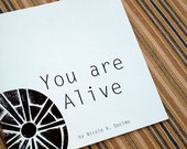 You Are Alive BOOK Creative Art Inspiration