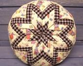 PDF/Folded Star Pin Cushion Pattern ET