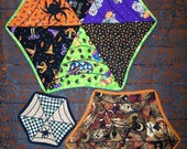 New Item/PDF/ Come Into My Parlor/Spider Web Table Topper Quilt Pattern ET