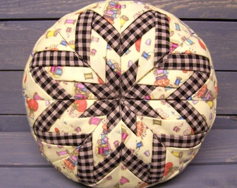 Folded Star Pin Cushion Pattern ET
