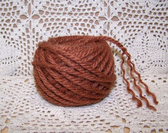 Wool Doll Hair  Curly 3 ply  Primitive Raggedy Gingerbread Et