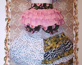 PDF Ruffled Bootey Fancy Pants Pattern for Infants ET