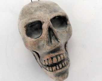 Ornament or Skull Pendant  Always Smiling