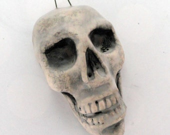 Skull Ornament or Pendant  Always Smiling