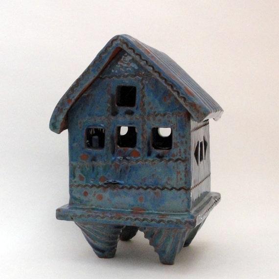 Prayer House / Spirit House (incense burner or for tea-light)