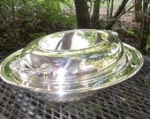 Antique Silver Bowl Covered Dish Vintage Silver Tray Wedding  Decor Table Setting  French Country Farmhouse TOWLE Silver Plate 3 Piece Set