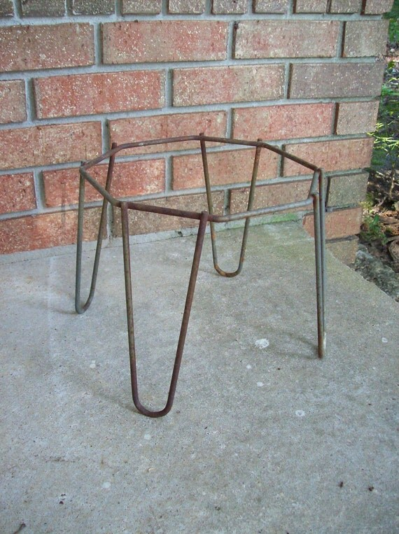 Mid Century Modern Plant Stand Fern Stand 1960s Garden Decor Hir Pin ...