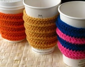 Ergonomic Coffee Sleeve CROCHET PDF PATTERN
