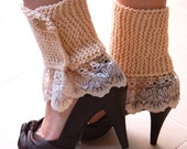 Elegant Leg Warmers PDF Knitting Pattern --- EASY