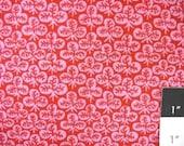 Kaffe Fassett GP73 Clover Red Cotton Fabric 1 Yard