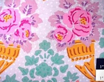 Kaffe Fassett GP79 Stencil Lilac Cotton Fabric 1 Yard