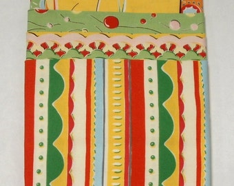 CLEARANCE Felicity Miller Kites Collection 4-Pack Fat Quarter Bundle
