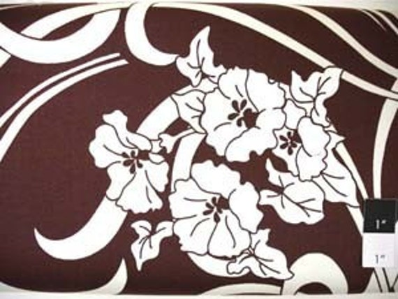 CLEARANCE Amy Butler August Fields Graceful Vine Ivory Cotton HOME DECOR Fabric 1 Yard
