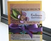 Embrace Happiness-Reserved for HazelHoney