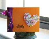 Mini Thank You Cards- Reserved for HazelHoney