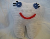 Tooth Fairy Pillow Crochet,  Made by request