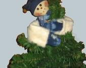 Snowman Tree Topper E-Pattern, Downloadable Digital Pattern