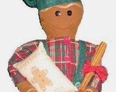 Chef Gingerbread  Doll, Epattern, PDF, Downloadable Digital Pattern