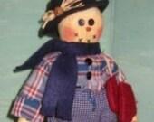 Little Frosty Doll PDF, EPattern, Digital Downloadable Pattern