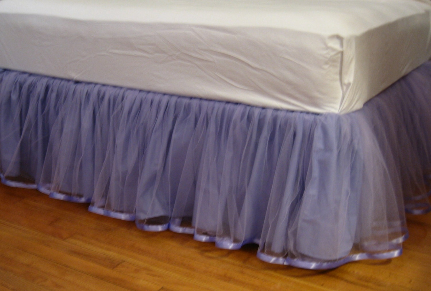 Green Bed Skirt Full