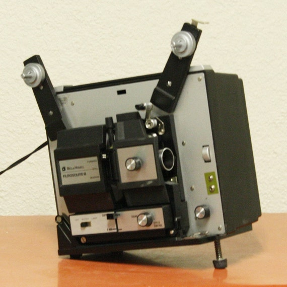 Vintage Movie Projector Bell And Howell Super 8 By