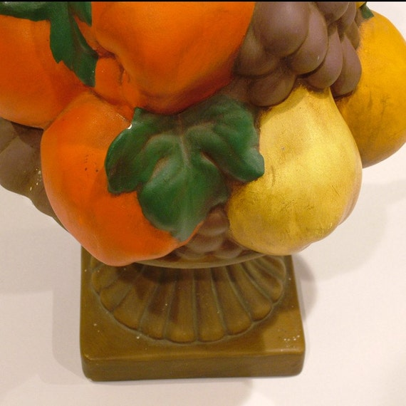 Vintage Ceramic Fruit Centerpiece