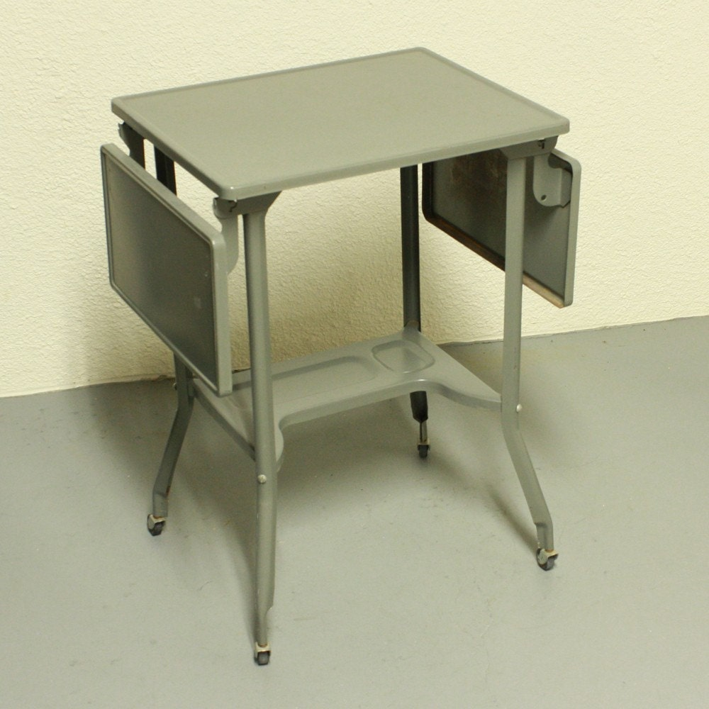 Vintage Table Stand Typewriter Table Typewriter Stand