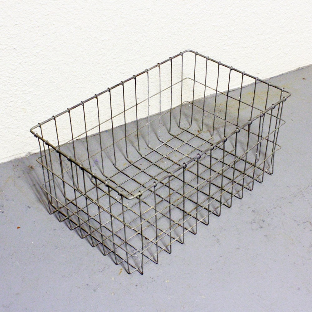 Vintage Metal Baskets 5
